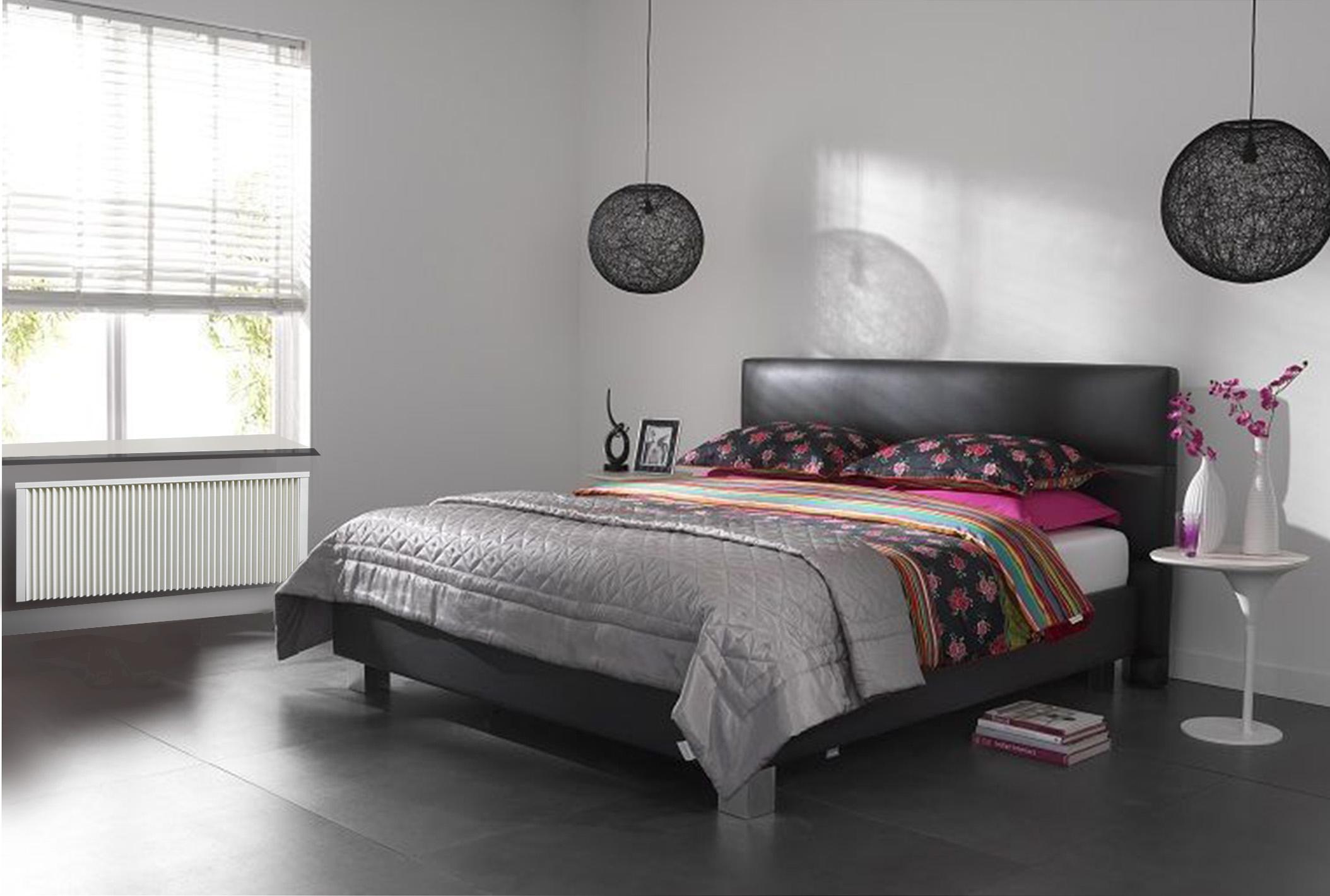 slaapkamer i wit