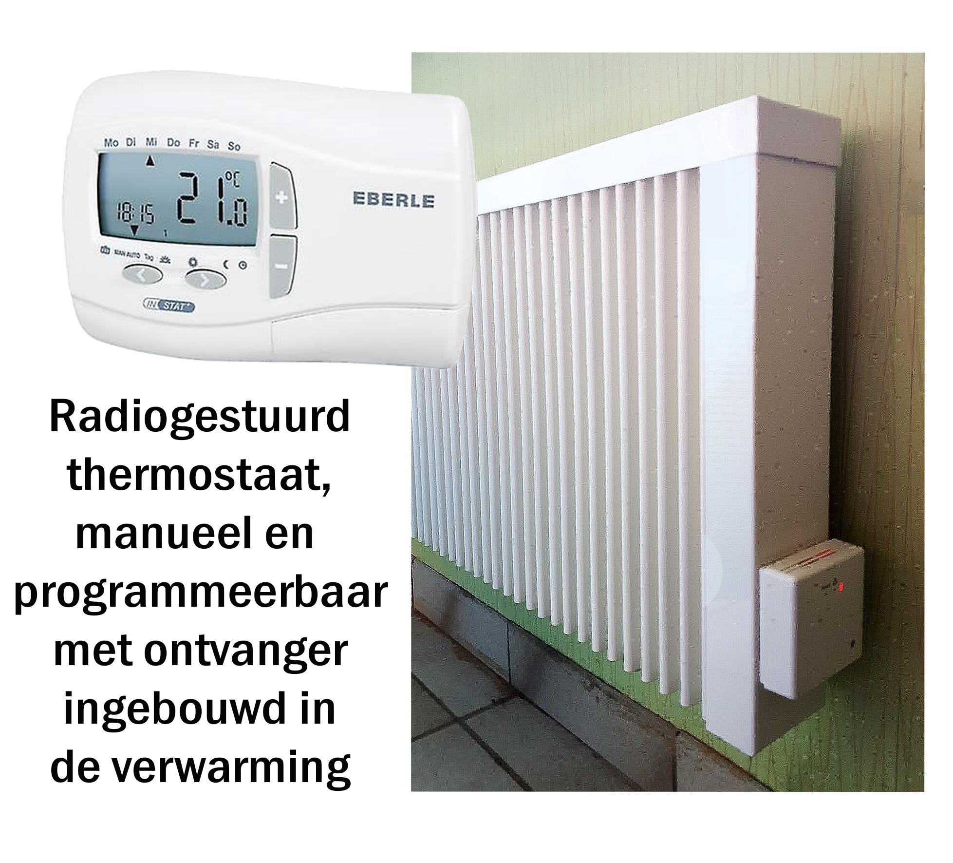 Eberle instant+ 868r ingeb ontvanger in verwarming