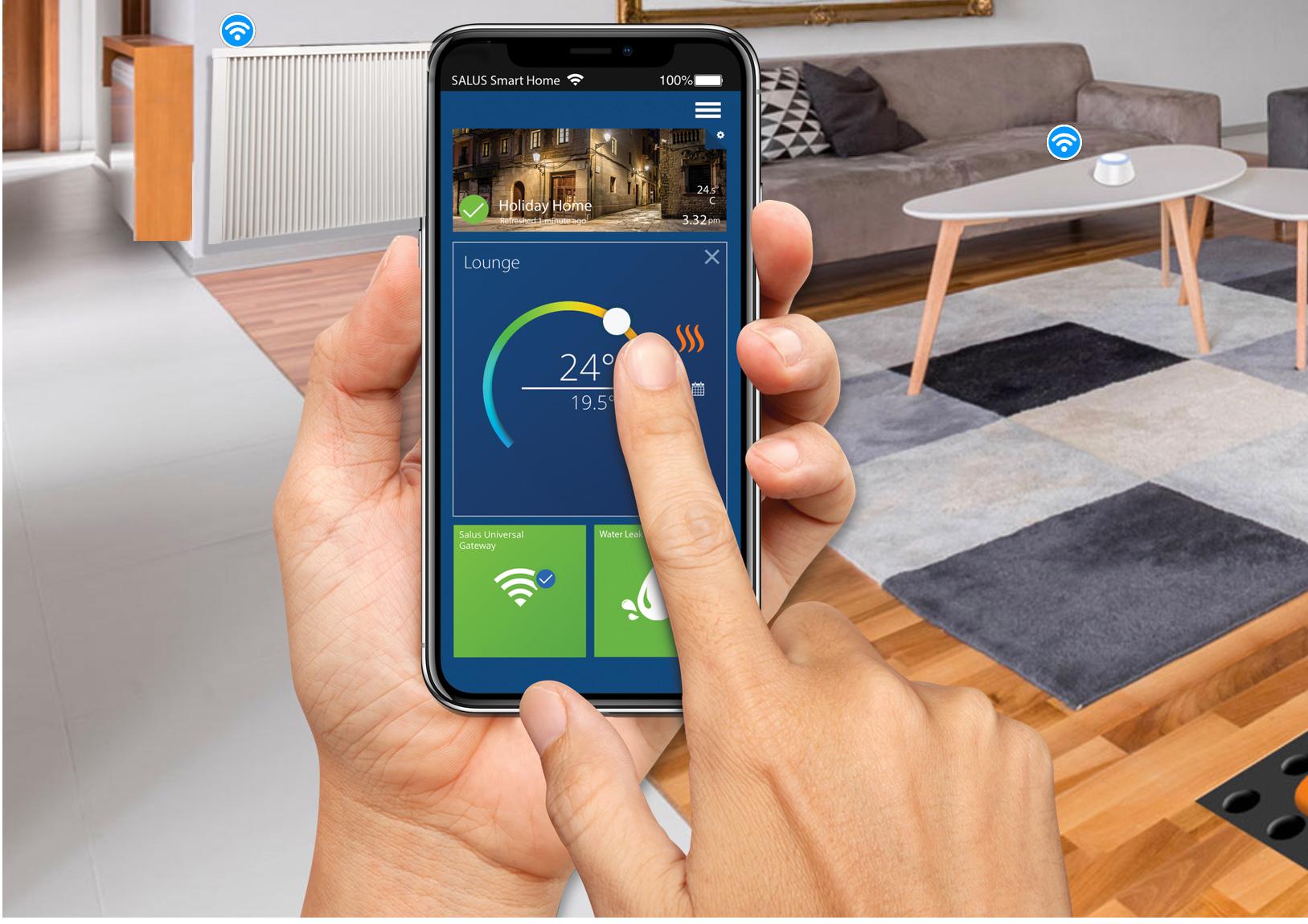 Smart Home voor elk kamer afzonderlijk