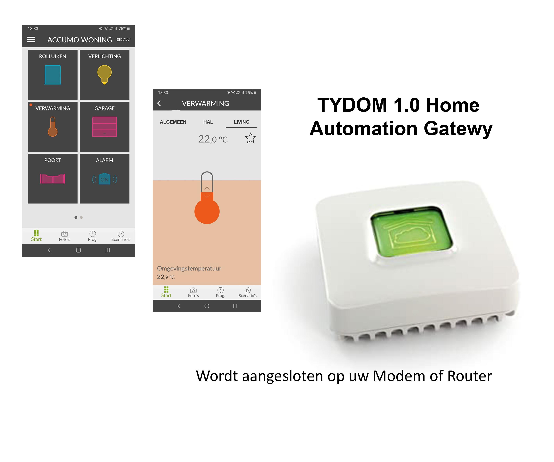 Tydom 11 met app