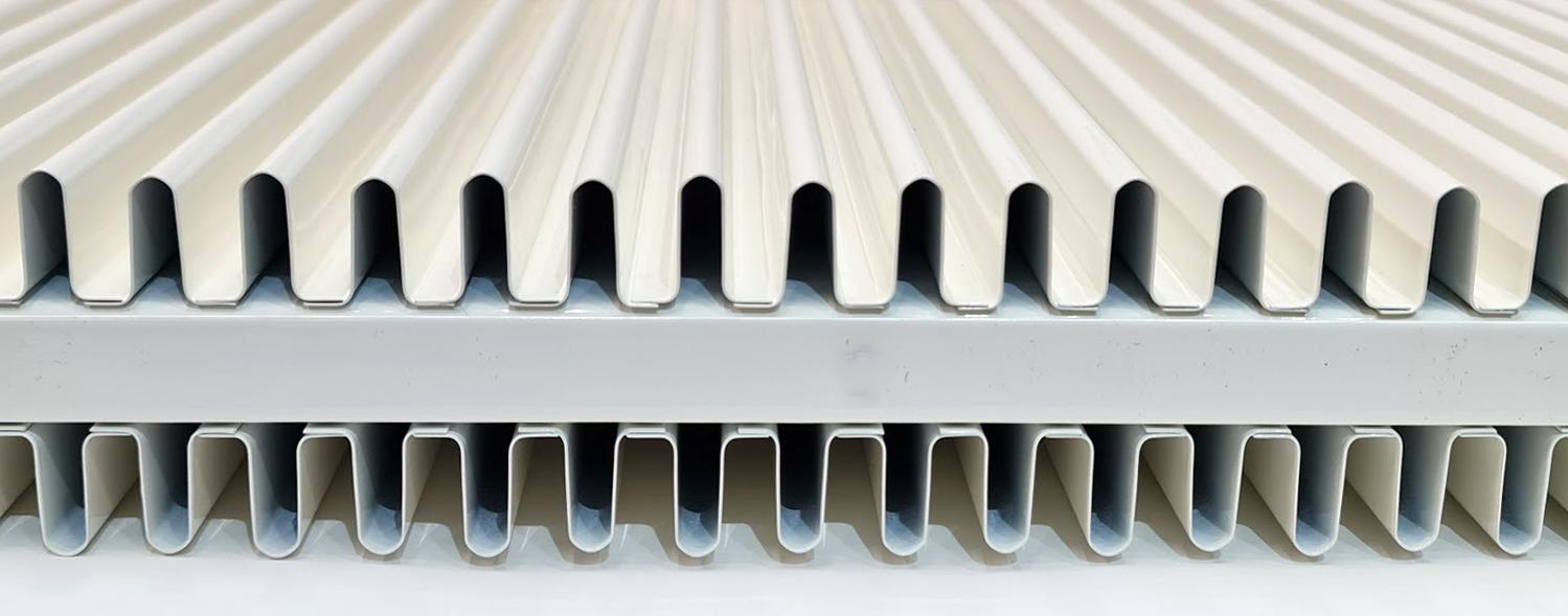Luchtkanalen radiator Accumo
